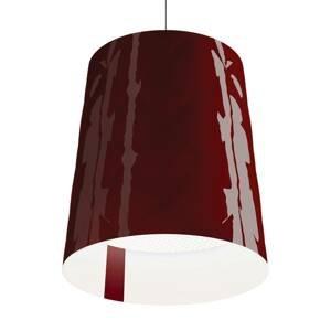 Kundalini Kundalini New York závesná lampa, Ø 45 cm, červená