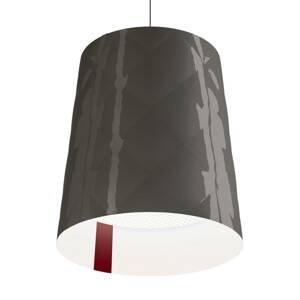 Kundalini Kundalini New York závesná lampa, Ø 45 cm, sivá
