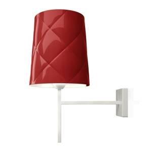 Kundalini Kundalini New York nástenná lampa, červená
