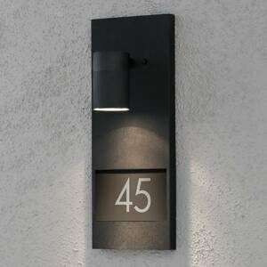 Konstmide Svietidlo na domové číslo Modena 7655, čierne