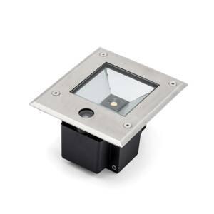 Konstmide Podlahové LED svetlo Dale 12W súmrakový snímač