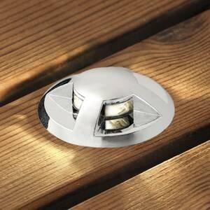 Konstmide Podlahové zapustené LED Mini 6 ks zakrivené
