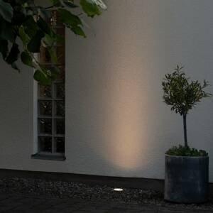 Konstmide Podlahové zapustené LED svietidlo 7876, biele