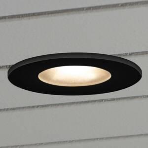 Konstmide Zapustené LED svietidlo 7875 strop exteriér čierne
