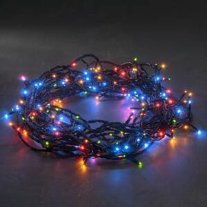 Konstmide CHRISTMAS Farebná svetelná LED reťaz micro 180-plameňová