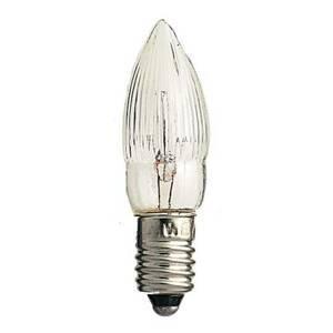 Konstmide CHRISTMAS E10 sviečkové žiarovky 3W 12V súprava 3 kusov