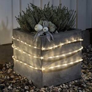 Konstmide CHRISTMAS Svetelná LED hadica 6m vonkajší 96-pl. teplá biela