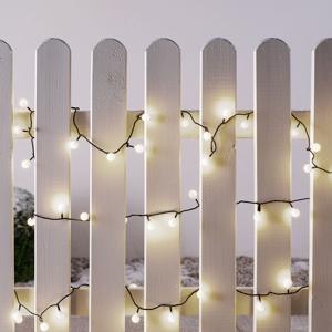 Konstmide CHRISTMAS Mini svetelná reťaz, ext. 80 zdrojov, 11,32 m