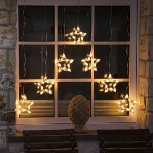 Konstmide CHRISTMAS Svetelný LED záves Hviezdy 70-pl.