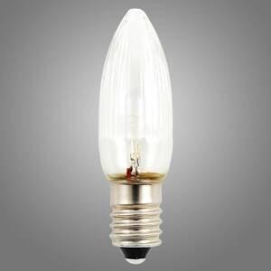 Konstmide CHRISTMAS E10 24V 0,3W náhradná LED žiarovka súprava 3 kusov