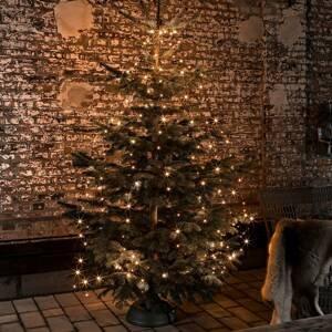 Konstmide CHRISTMAS Svetelná LED reťaz Vianočný kabát 8 povrazov