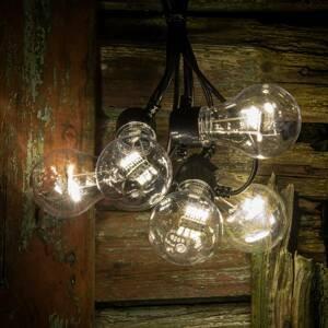 Konstmide CHRISTMAS LED reťaz vzhľad žiarovkové vlákno teplá biela 5pl