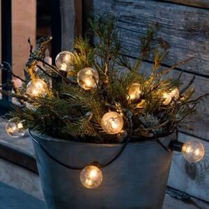 Konstmide CHRISTMAS LED reťaz vzhľad žiarovkového vlákna jantár 10-pl.