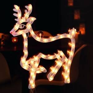 Konstmide CHRISTMAS Silueta do okna Sob vnútorná s LED 50-pl.