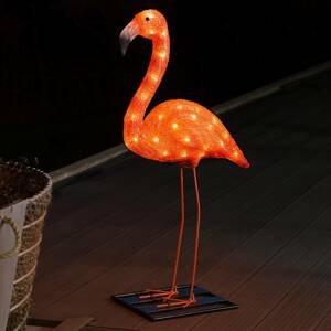 Konstmide SEASON Dekoračné LED svietidlo Plameniak 65cm