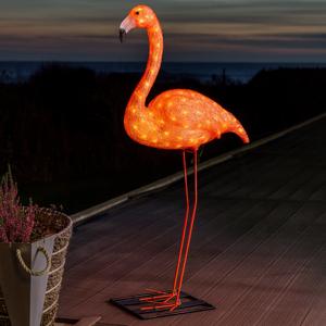 Konstmide SEASON Dekoračné LED svietidlo Plameniak 110cm