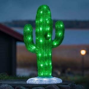 Konstmide SEASON Vonkajšia LED dekorácia akrylový Kaktus