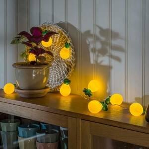 Konstmide SEASON Svetelná LED reťaz Ananás, na batérie