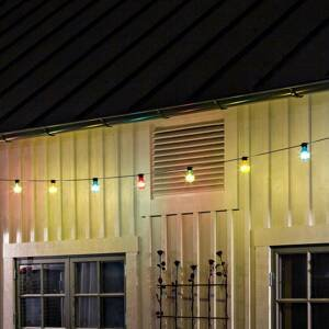 Konstmide CHRISTMAS Svetelná reťaz Pivná záhrada 10 farebných LED