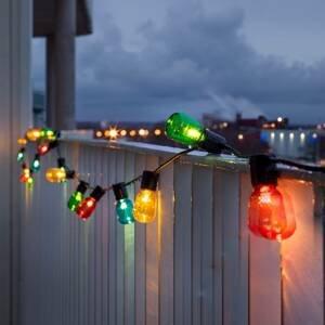 Konstmide CHRISTMAS Svetelná reťaz Pivná záhrada 40 LED kvapiek, farby