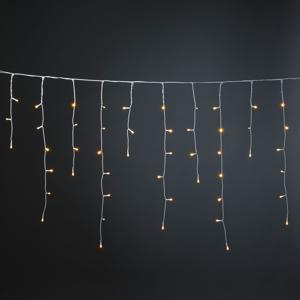 Konstmide CHRISTMAS Záves ľadový dážď Glimmer jantár, 50,7 cm 200fl