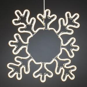Konstmide CHRISTMAS LED dekoratívna snehová vločka