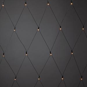 Konstmide CHRISTMAS Vonkajšia LED svetelná sieť, 64–pl., 200x200cm
