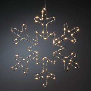 Konstmide CHRISTMAS LED ozdobné svetlo Strieborná snehová vločka