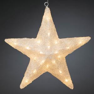 Konstmide CHRISTMAS LED deko hviezda, Ø 40 cm