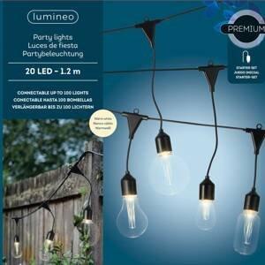 Kaemingk Svetelná LED reťaz 490150 4 tvary žiaroviek