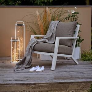 Kaemingk Solárna stojaca LED lampa 897536 49cm vysoká biela