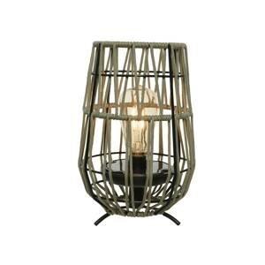 Kaemingk Solárna stolná LED lampa 897598 piesok jantárová