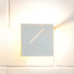 Knikerboker Knikerboker Des.agn nástenné LED svietidlo biele