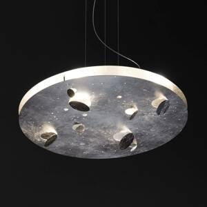 Knikerboker Knikerboker Buchi závesné LED okrúhle striebro