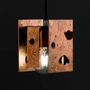 Knikerboker Knikerboker Buchi závesná lampa 13x11x16,5 meď