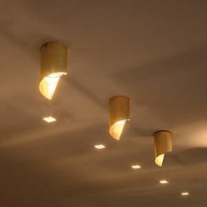 Knikerboker Knikerboker Hué stropné LED svietidlo 8x15cm zlato