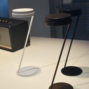 Knikerboker Knikerboker Zeta stolná LED lampa snímač USB biela