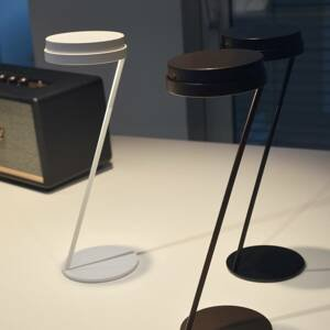 Knikerboker Knikerboker Zeta stolná LED snímač USB čierna