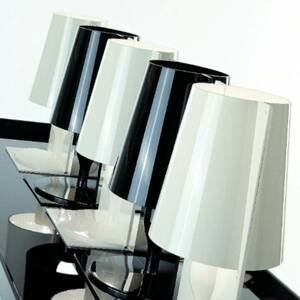 Kartell Kartell Take stolná lampa, čierna