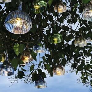 Kartell Kartell É – závesná lampa s LED, zelená