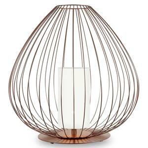 Karman Karman Cell klietková stolná lampa 62cm bronz