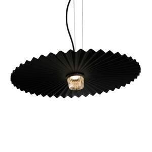 Karman Karman Gonzaga závesné LED svetlo, Ø 59cm, čierne