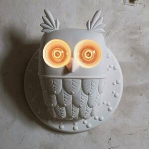 Karman Karman nástenné svietidlo Ti Vedo v tvare sovy