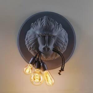 Karman Karman Ugo Lino – nástenné svietidlo, sivé