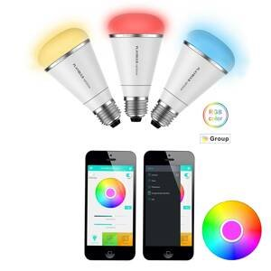 MiPow MiPow Playbulb Rainbow+3xRGB LED žiarovka E27 10W
