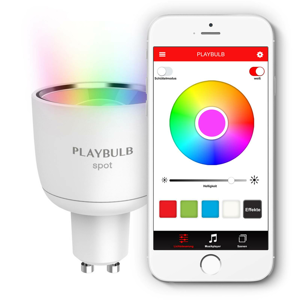 MiPow MiPow Playbulb svetlo 1xRGB LED žiarovka GU10 4W