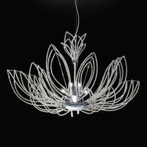 PATRIZIA VOLPATO Opulentná závesná lampa Girasole v tvare kvetu