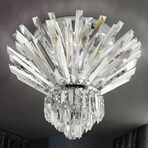 PATRIZIA VOLPATO Krištáľové stropné svietidlo Cristalli 60cm