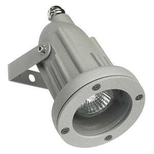 LEDS-C4 Výkyvné exteriérové bodové svetlo Helio sivé