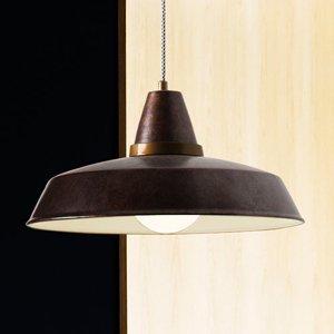 LEDS-C4 Závesná lampa Vintage v hrdzavohnedej, 1-pl.